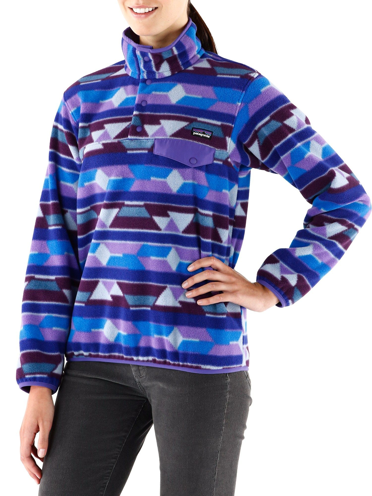 Patterned Patagonia Fleece Unique Inspiration Design