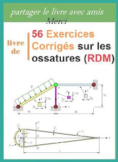 Telecharger 56 Exercices Corriges Sur Les Ossatures Rdm Pdf Gratuitement Genie Mecanique Genie Mecanique Exercice Telechargement