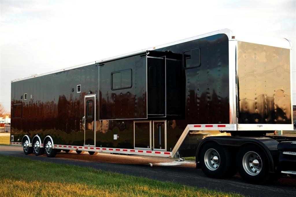 53 Aluminum Custom Lq Show Hauler Trailer Beckercustomtrailers