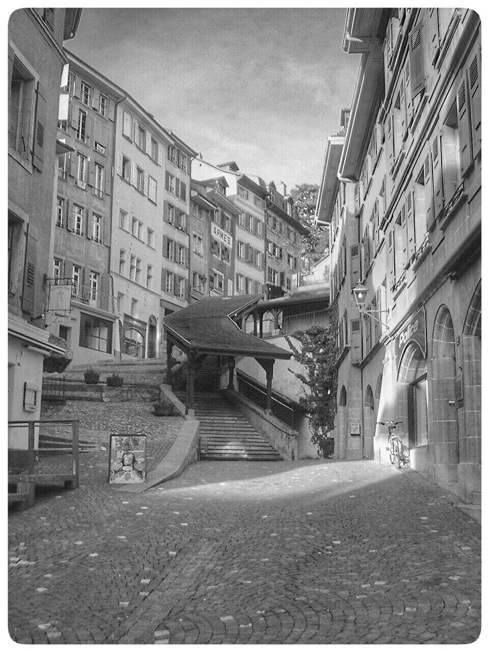 Lausanne les escaliers du marche
