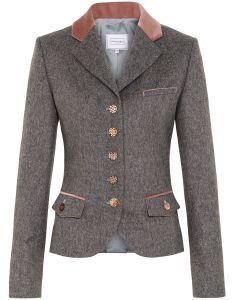 Trachten Jacket trachtenjanker Trachten Janker of Wool Anthracite