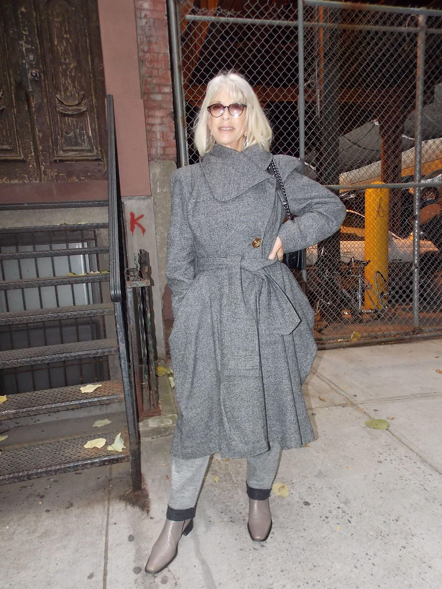 Streetstyle in New York • Vivienne Westwood Coat • Photo: Alina Spiegel