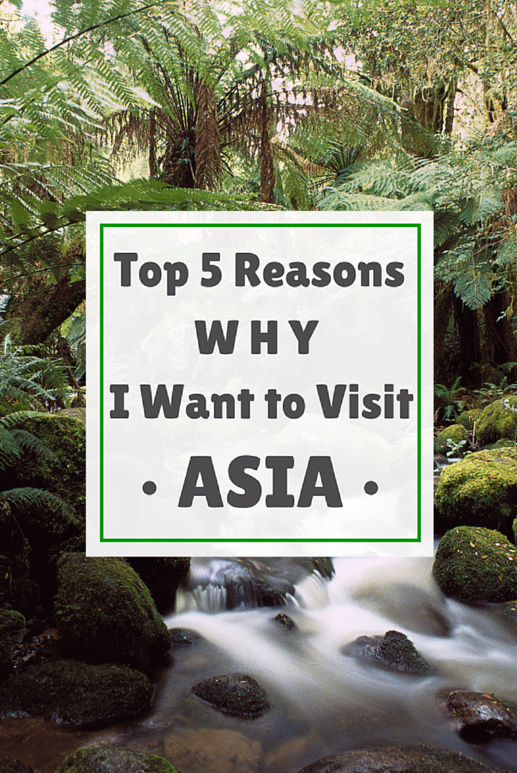 Top 5 Reasons Why I Want to Visit Asia http://www.littlethingstravel.com #asia #travel #wanderlust #visitasia #worldtravel