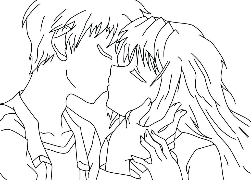 La Pagina Para Colorear De Anime Anime Para By Dibujos Para Colorear ...