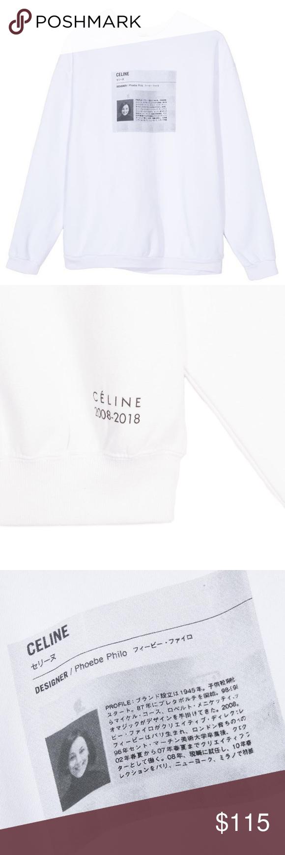 Sold Sporty Rich Celine Phoebe Philo Sweatshirt Sporty And Rich Phoebe Philo Philo [ 1740 x 580 Pixel ]