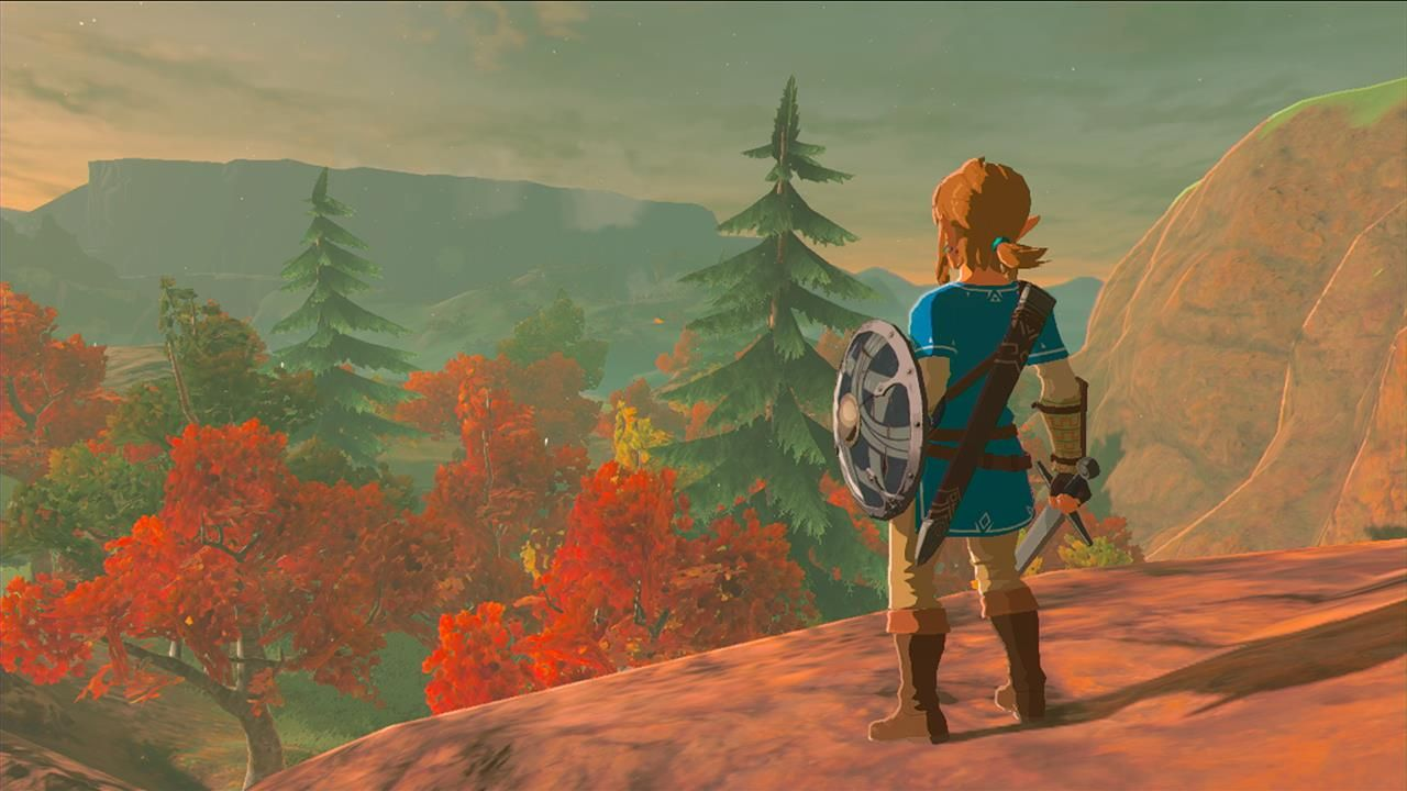 Screenshot Until Release Wtill Expected In March 2017 On Switch And Wii U Legend Of Zelda Breath Of The Wild Legend Of Zelda Breath