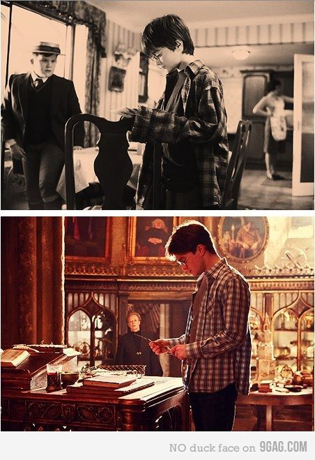 """harry potter and the shirt that finally fit"""