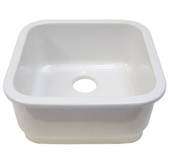 ALFI brand AB1818S - Prep Sink
