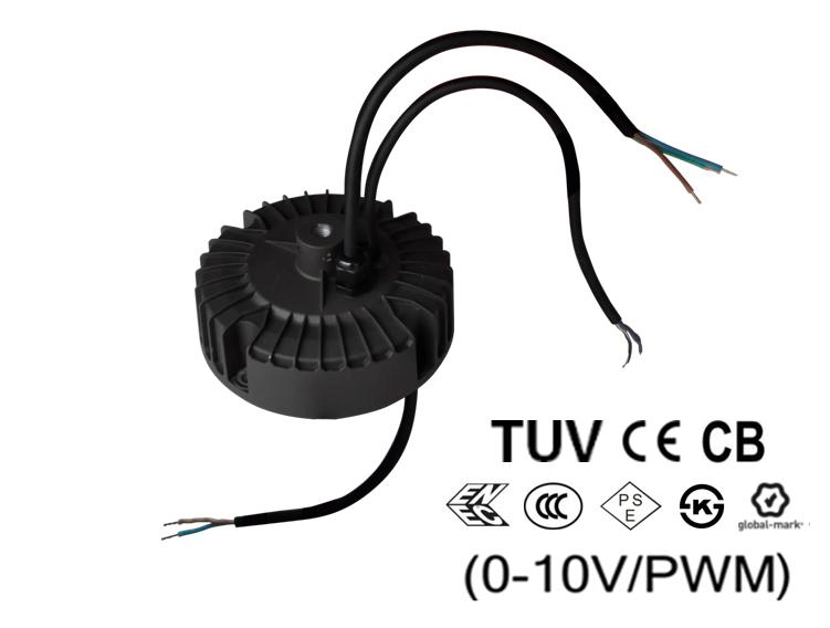 EUR-150SxxxDV/SV Inventronics 150W Indoor IP65 Waterproof Round Pro