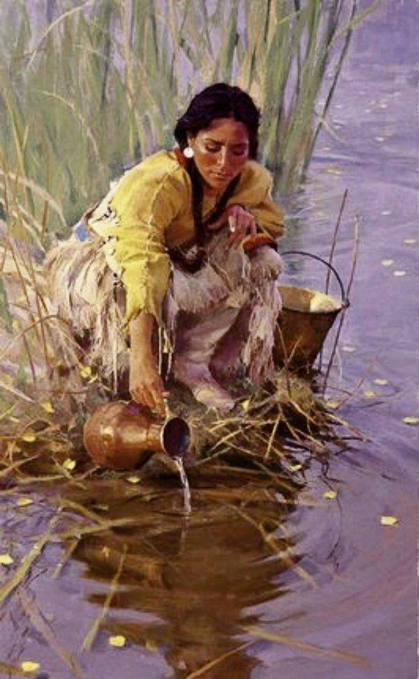 Cheyenne water maiden.