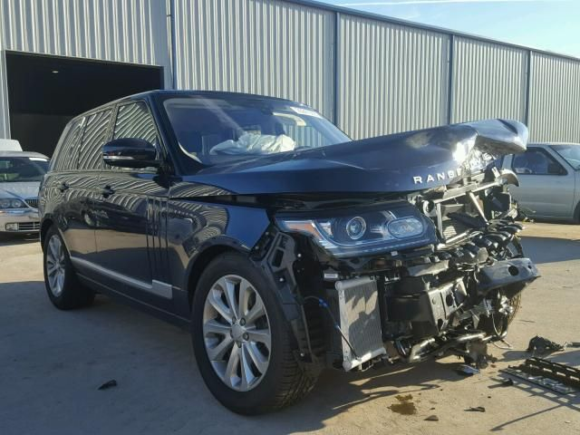 Salvage Land Rover Range Rover Hse Salvage SUV Auction - Range rover inventory