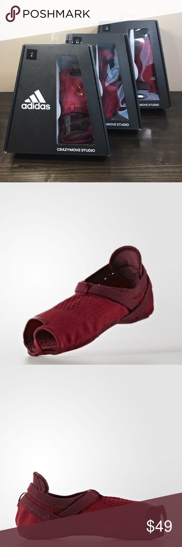 adidas CrazyMove Studio Dance Yoga Pilates Shoes Brand New