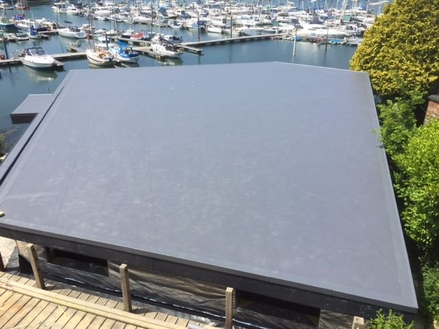 Single Ply Roofing Cornwall Pellow Flat Roofing Ltd In 2020 Single Ply Roofing Roofing Flat Roof