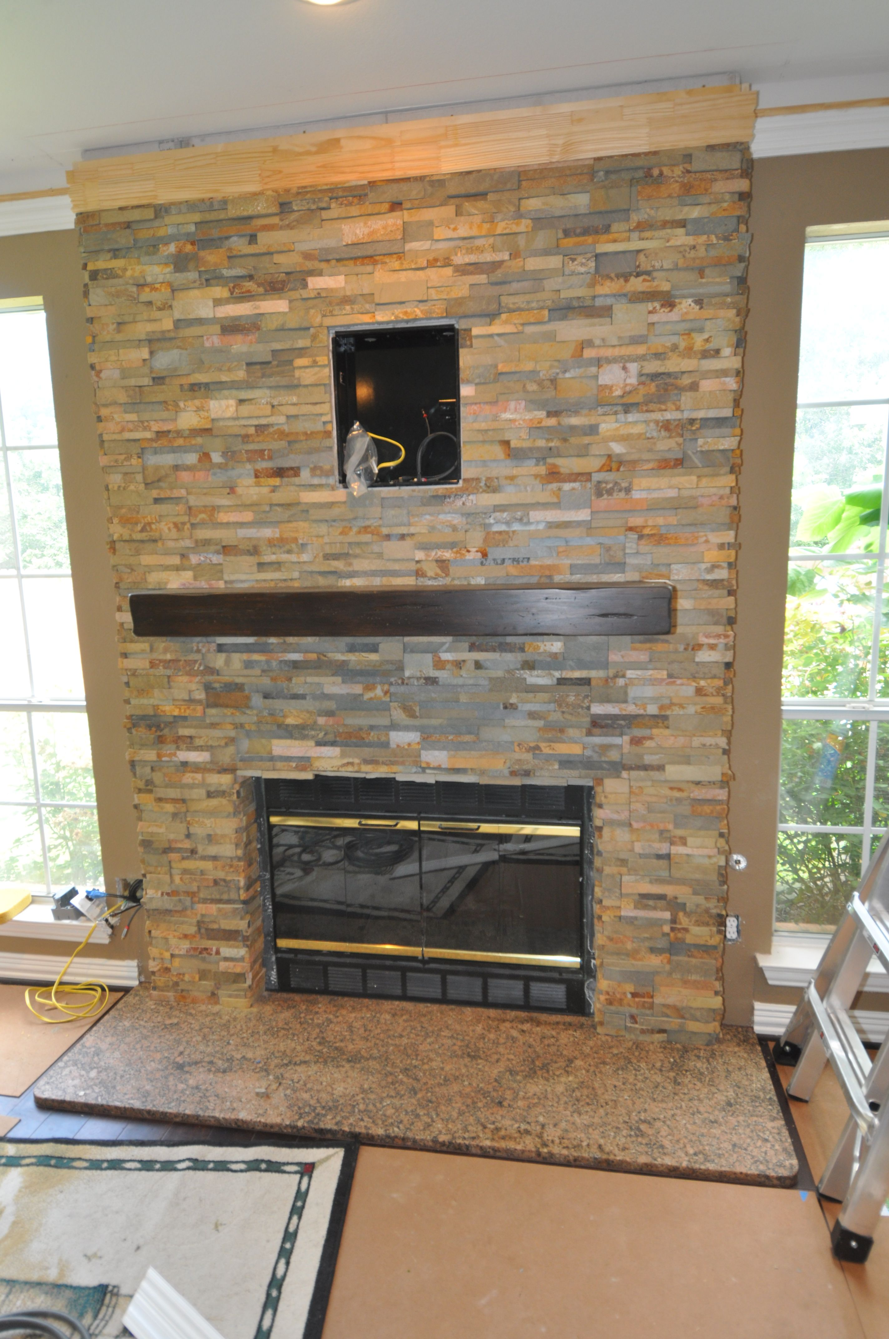 Pin By Texas Tile House On Fireplaces & Mantels -