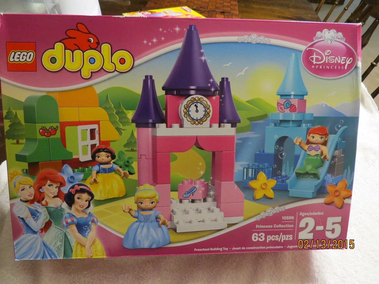 Lego, Duplo Disney Princess Collection 10596 Unboxing, Review By Wd