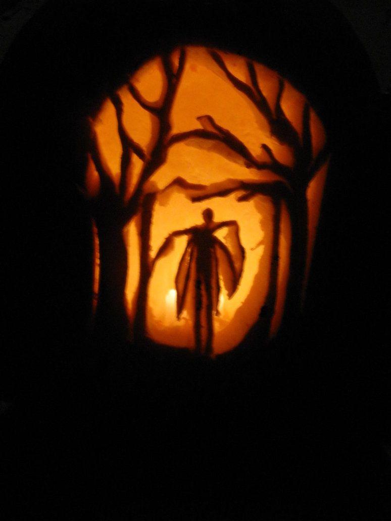images of jack o lantern faces slender man jack o lantern by rh pinterest com