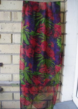 70f53a2734b63 Didelė marga švelni šilkinė skara   Vinted   Curtains, Shower, Tie dye skirt