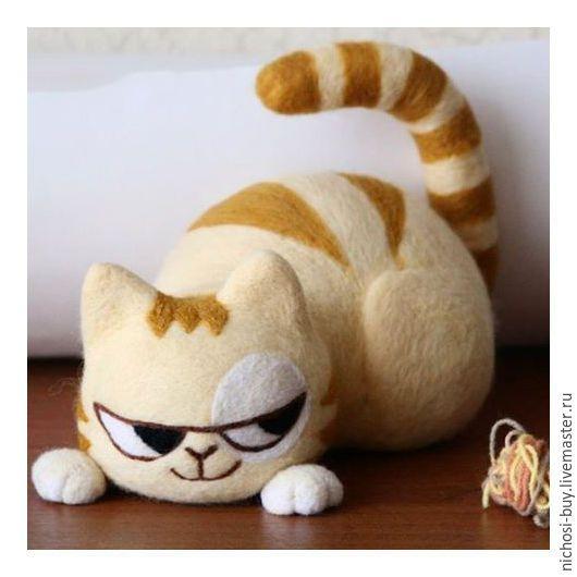 Игрушка кот персик