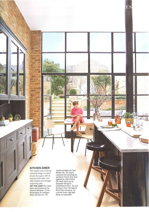 Living Etc May 2014 featuring our metal windows and doors. See more: http://www.clementwindows.co.uk/documents/living-etc-may-2014.pdf#zoom=100 #MetalWindows #SteelFrame #SteelDoors #SteelWindows #InteriorDesign