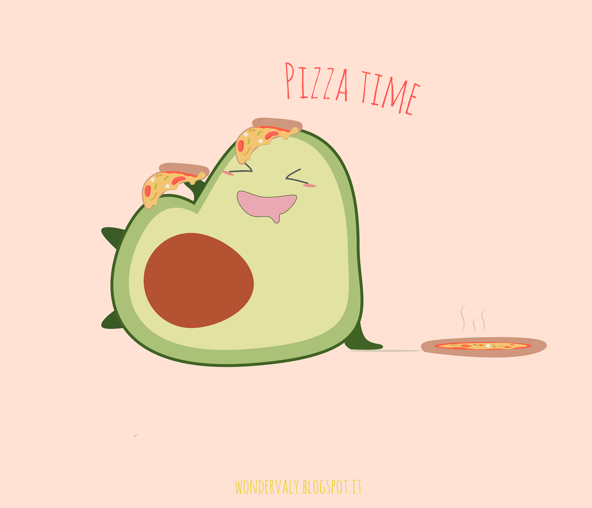 Happy Avocado | Illustrations, Simple character and Illustration art