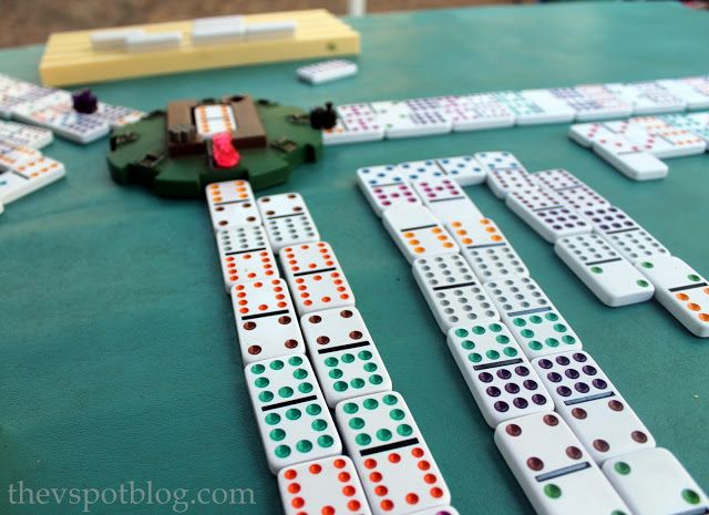 Rules For Mexican Train Dominoes Fun Games Pinterest Games