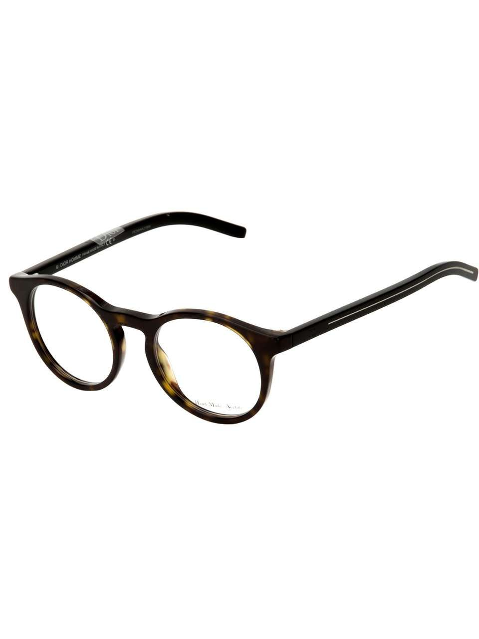 ace7b78329e Dior Homme round frame glasses on Wantering