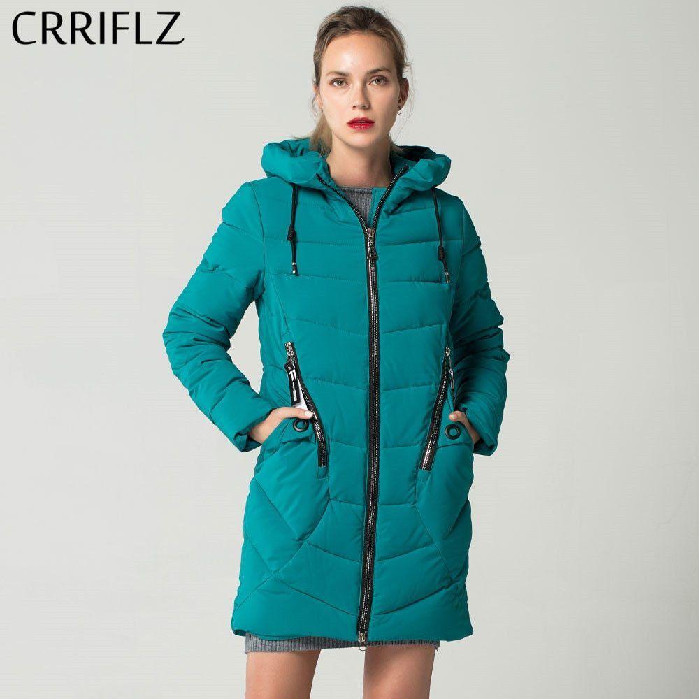 91bea7552 New Fashion Women s Winter Jacket Coat Slim Hooded Thick Warm Down Parkas  Long Female Down Jacket