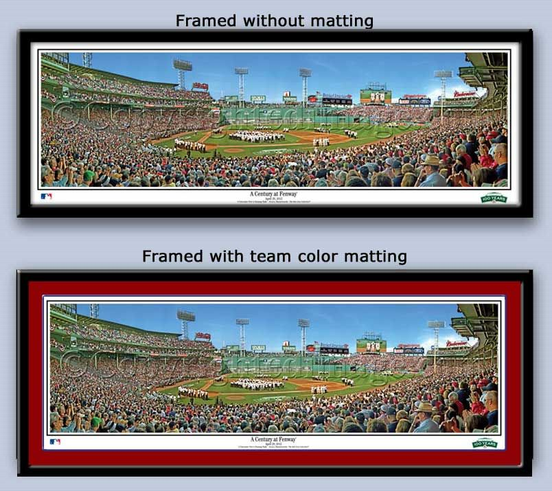 Boston Red Sox A Century at Fenway Framed Print