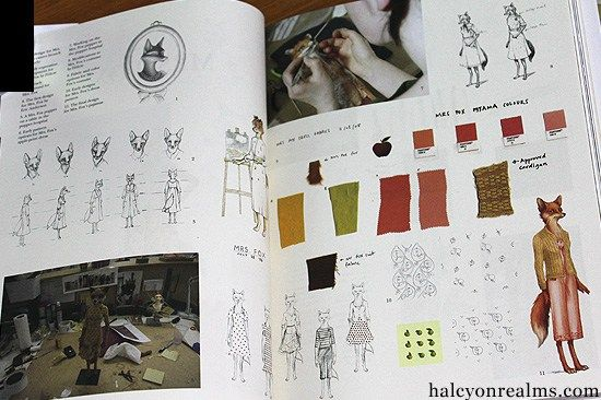 The Making Of Fantastic Mr Fox Art Book Review Book Art Fox Art Animation Stop Motion