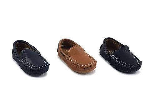 These infant boys leather loafers are adorable and stylish !!! SIZES 3 - 7  JUST £8.99 https://www.facebook.com/LittleKickersKiddieShoes/?utm_co… |  Pinteres…