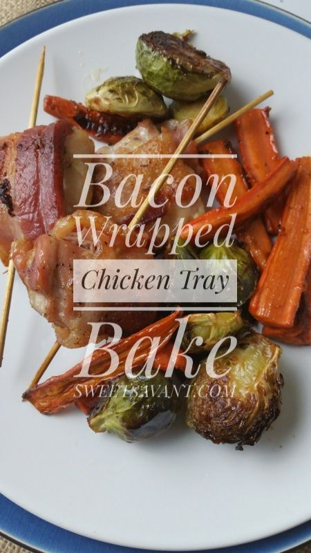 Bacon wrapped chicken tray bake chicken and vegetables sweetsavant bacon wrapped chicken tray bake chicken and vegetables sweetsavant americas best food blog forumfinder Gallery