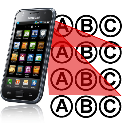 Free Multiple Choice Scanner using your android phone