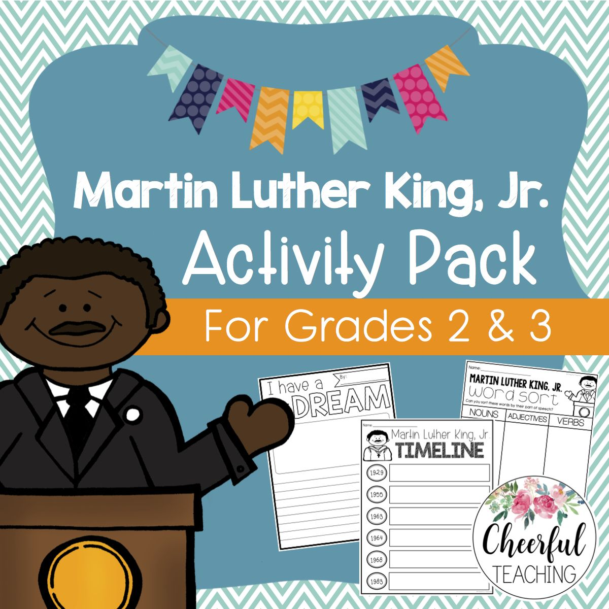 Martin Luther King Jr Day Activity Pack
