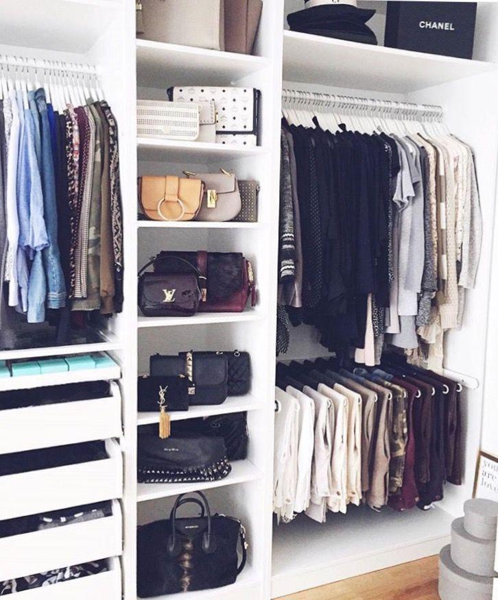 Closet goals interior design and such in 2019 pinterest vestidor cl set and armarios - Armarios de habitacion ...