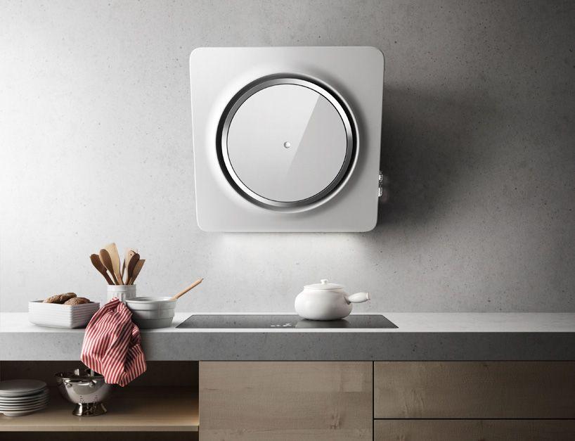 Ap Indesignmemories Loop By Fabrizio Crisa For Elica Arthur And Puff Are Everywhere Faceb Round Mirror Bathroom Bathroom Mirror Design