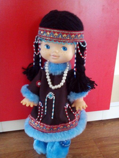 Кукла в чукотском национальном костюме (с изображениями ...