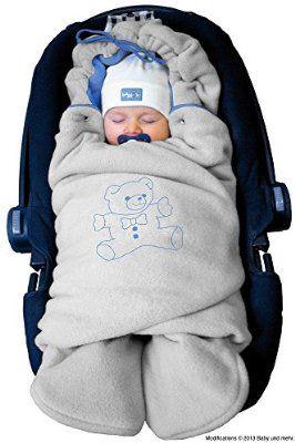 BABY CAR SEAT SWADDLE WRAP PERSONALISED BLANKET SLEEPING BAG UNIVERSAL BOYS