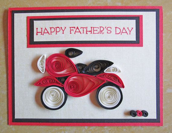 Paper Quilling Father S Day Card Quilled Fathers Day With