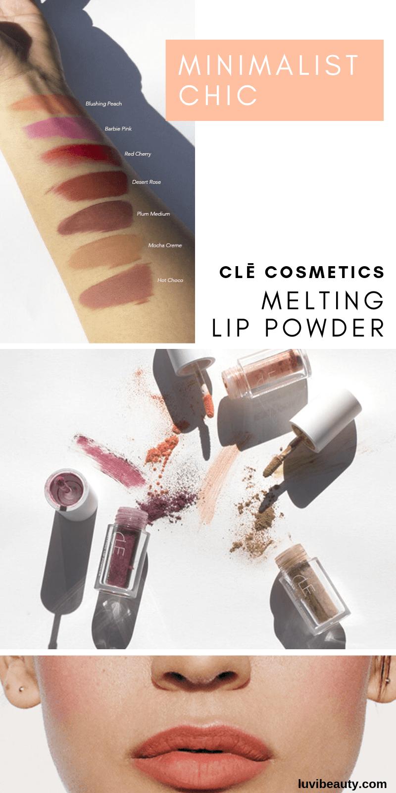 Cle Melting Lip Powder Lip Tint Lip Colors Perfect Lip Color Pretty Lip Color