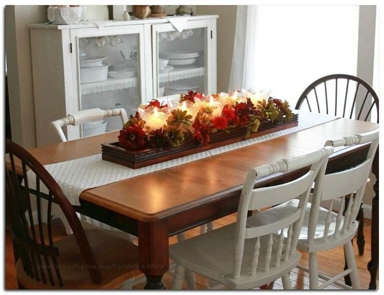 40 Amazing Fall Coffee Table Decorations Ideas Dining Room Table Centerpieces Dining Room Table Kitchen Table Decor