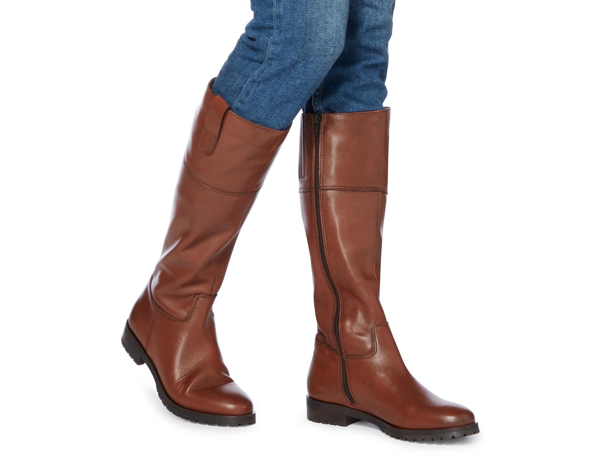 TIMI Side Tab Leather Riding Boot (With images) Riding