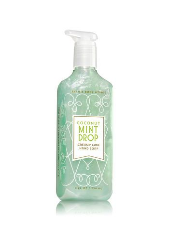 Coconut Mint Drop Creamy Luxe Hand Soap Bath And Body Works