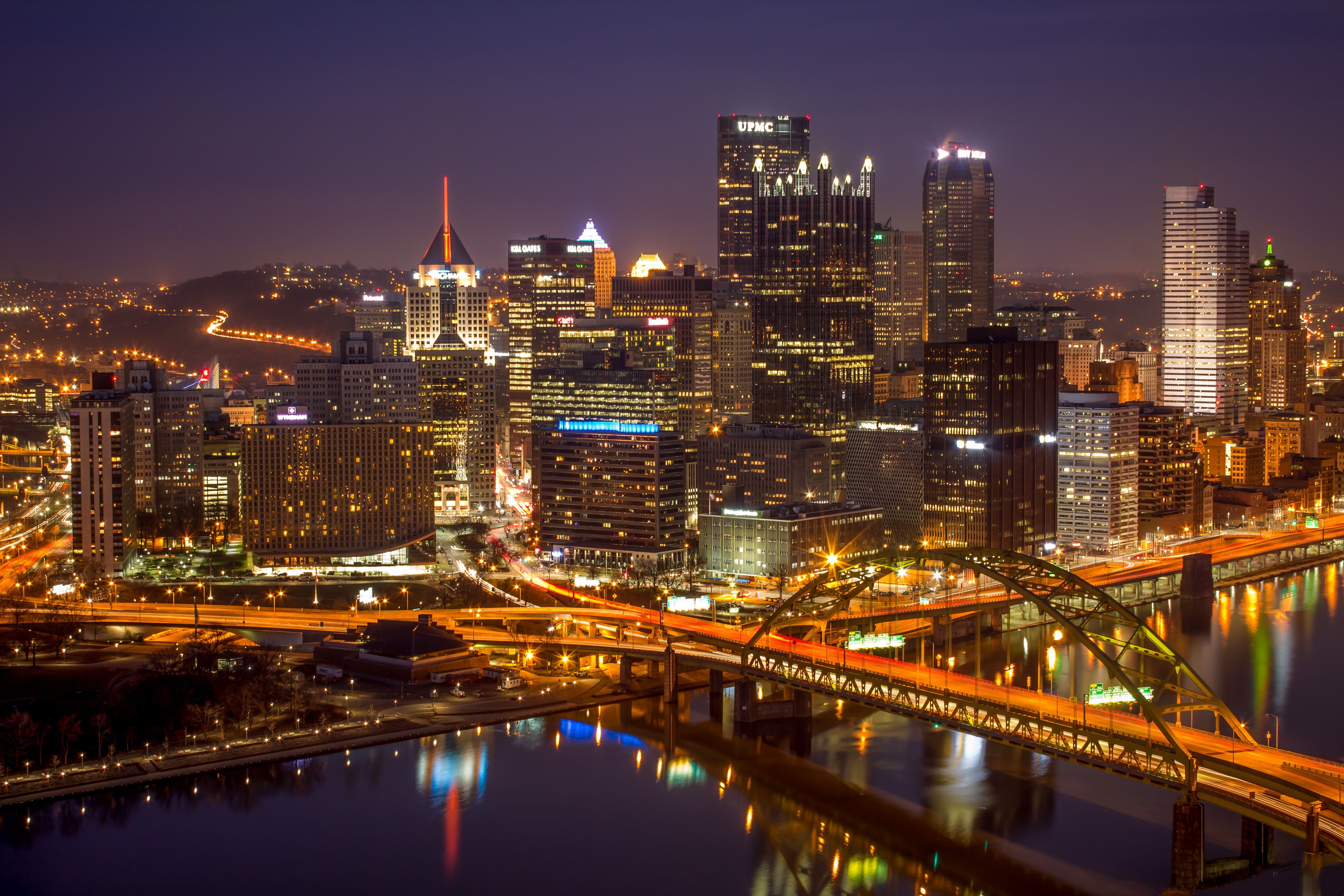 Pittsburgh Background Image Pittsburgh Skyline Skyline Places To Travel
