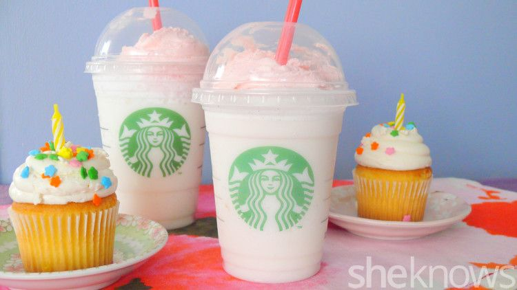 Find Out Whether The New Starbucks Birthday Cake Frappuccino Is