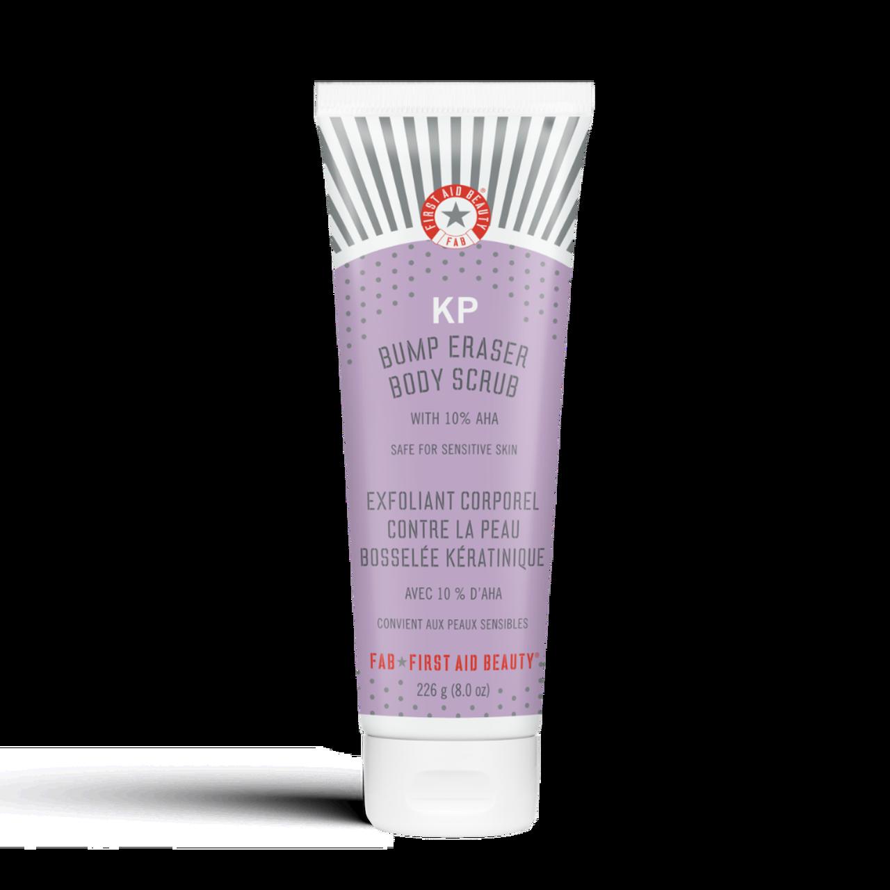 Kp Bump Eraser Body Scrub 10 Aha In 2021 First Aid Beauty Body Scrub Best Body Scrub