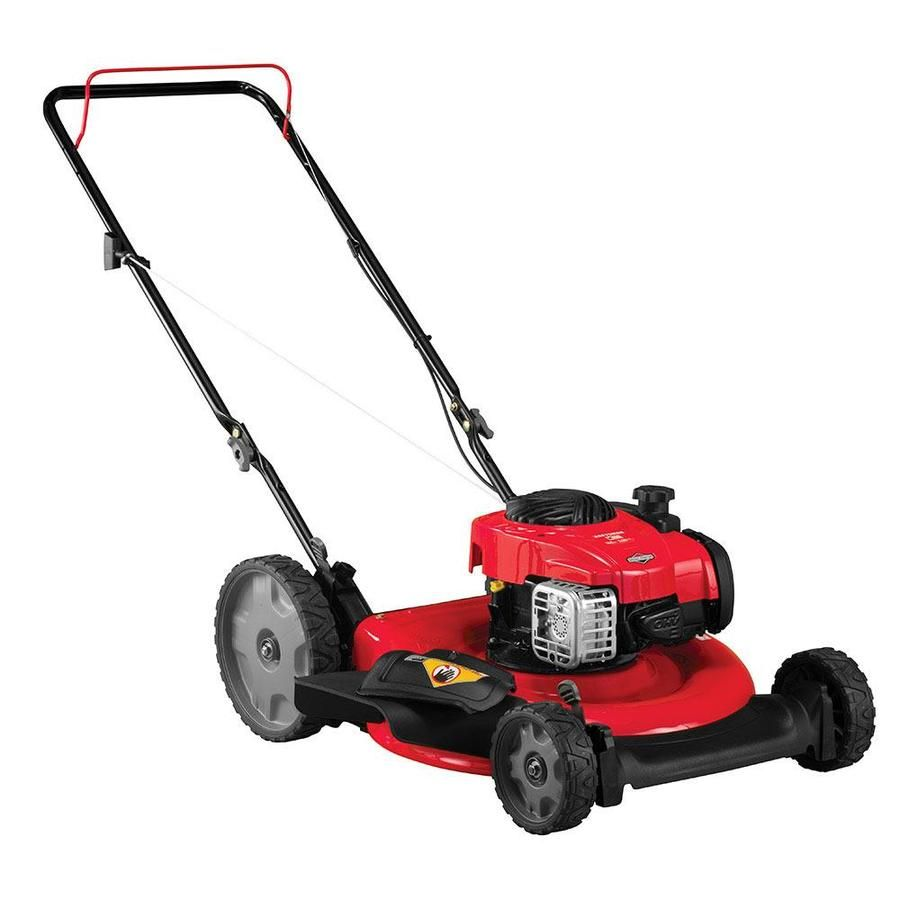 Craftsman M100 140 Cc 21 In Gas Push Lawn Mower With Briggs Stratton Engine In 2020 Push Lawn Mower Lawn Mower Best Lawn Mower