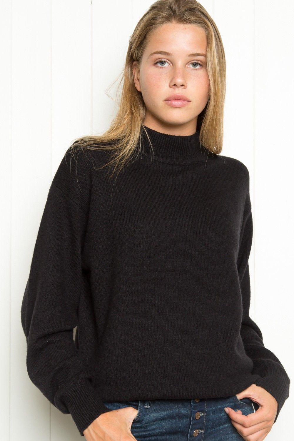 Brandy ♥ Melville | Marlene Turtleneck Sweater - Pullovers ...