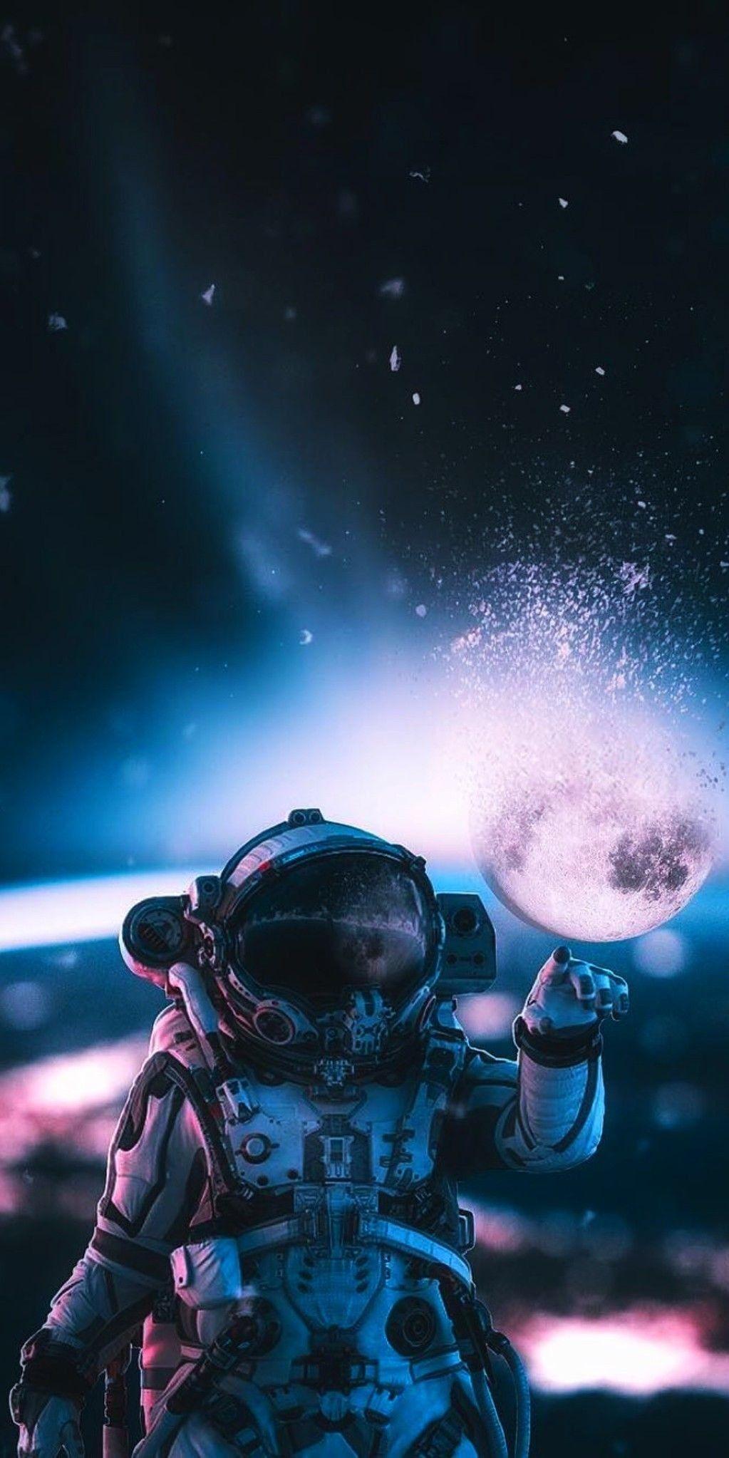 Pin By Tae On Arte Surrealista Astronaut Wallpaper Astronaut Art Space Art