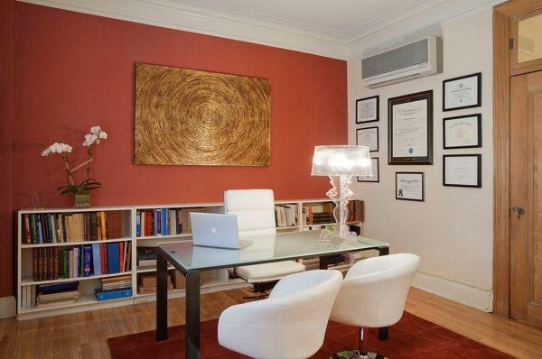 Wandfarben Ideen: Die beste Farbe fürs Büro aussuchen! | Wandfarben ...