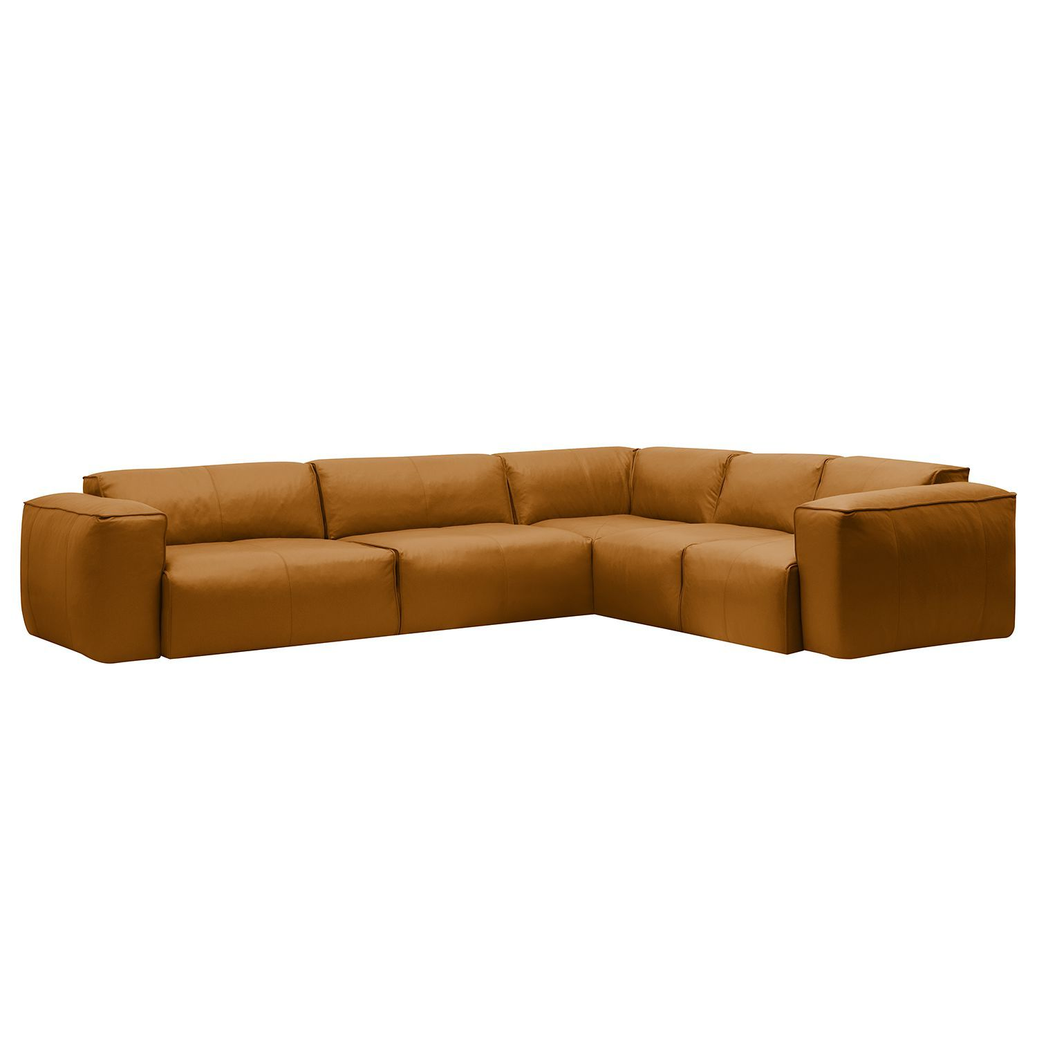 Big Ecksofa Ledersofa Cognac Latest Bean Big Ecksofa Braun Vintage Sofa